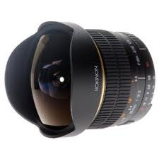 Rokinon 8mm f/3.5 Fisheye Lens - Canon EF Mount - B&C Camera - 1