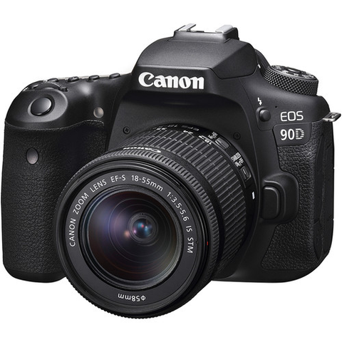 Canon EOS 90D DSLR Camera with 18-55mm Lens by Canon at B&C Camera