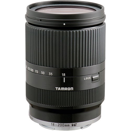 Tamron AF 18-200mm F/3.5-6.3 Di III VC Lens for Sony (Black) by Tamron at B&C Camera