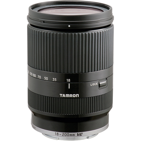 Tamron AF 18-200mm F/3.5-6.3 Di III VC Lens for Sony (Black) - B&C Camera