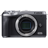 Canon EOS M6 Mark II Mirrorless Digital Camera (Silver, Body Only) by Canon at B&C Camera