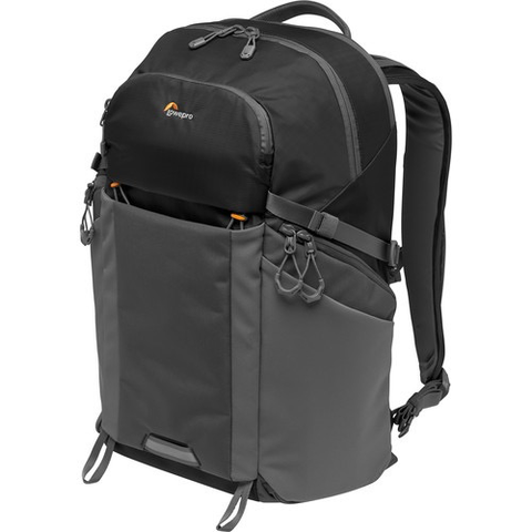 Lowepro Photo Active BP 300 AW Backpack (Black/Dark Gray) by Lowepro at B&C Camera