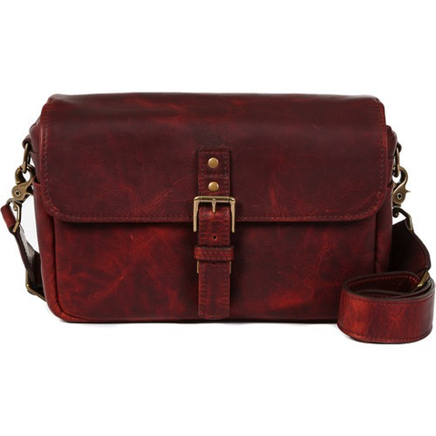 ONA Bowery Camera Bag (Leather, Bordeaux) by ONA BAGS at bandccamera