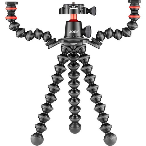 Joby GorillaPod 3K PRO Rig (Black/Charcoal/Red) by Joby at B&C Camera
