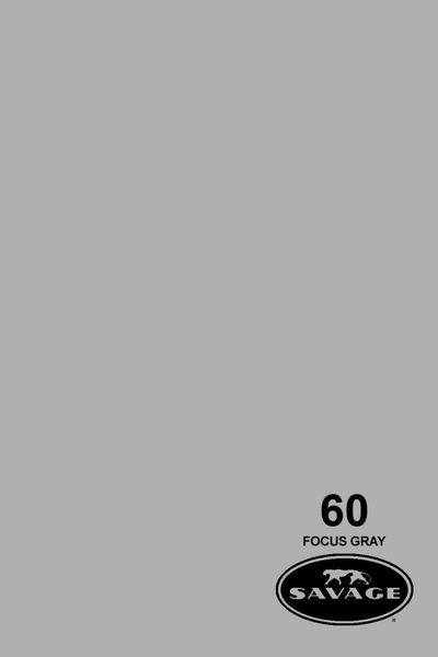 "Savage Widetone Seamless Background Paper (Focus Gray 86""X12yds)"