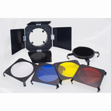Promaster 3 in 1 Barndoor Kit for 160A Studio Flash by Promaster at B&C Camera