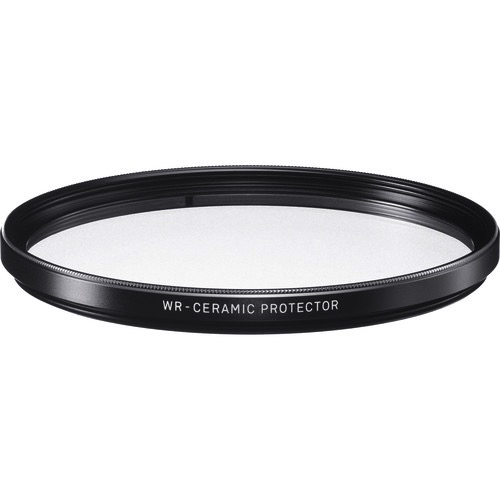 Sigma 95mm WR Ceramic Protector Filter by Sigma at bandccamera