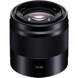 Sony E 50mm f/1.8 OSS Lens (Black) by Sony at B&C Camera