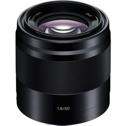 Sony E 50mm f/1.8 OSS Lens (Black) - B&C Camera - 1