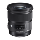 Sigma 24mm F1.4 DG HSM Art Lens for Canon by Sigma at bandccamera