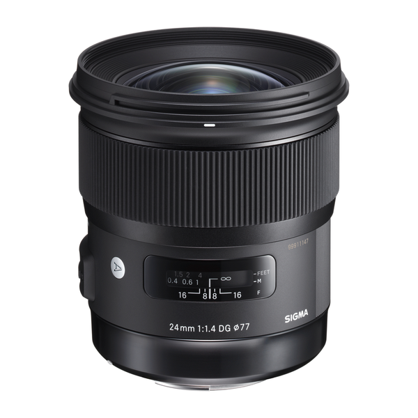 Sigma 24mm F1.4 DG HSM Art Lens for Canon by Sigma at B&C Camera