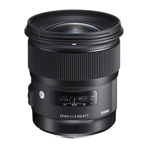 Sigma 24mm F1.4 DG HSM Art Lens for Canon