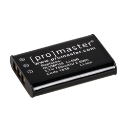 Promaster LI-60B Lithium Ion Battery for Olympus - B&C Camera