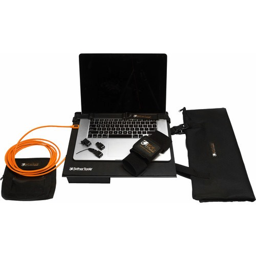 Tether Tools Pro Tethering Kit with USB 2.0 Type-A Male to Mini-USB 8-Pin Male Cable B