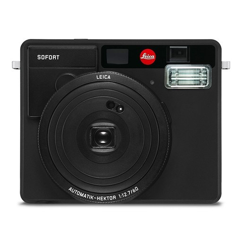 Leica Sofort Instant Film Camera (Black) by Leica at bandccamera