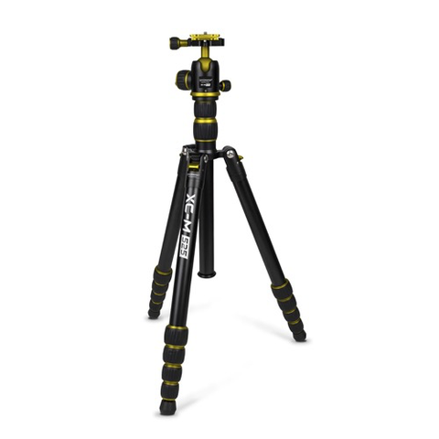 Promaster XC-M 525K Professional Tripod (Yellow) - Kit with Ball Head