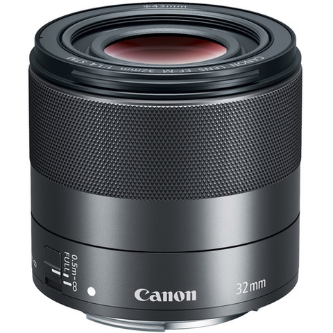 Canon EF-M 32mm f/1.4 STM Lens by Canon at bandccamera