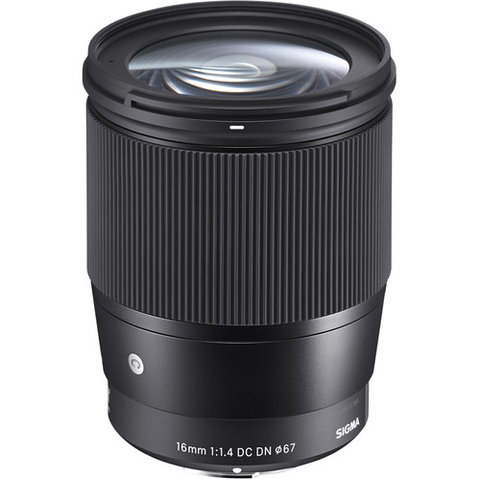 Sigma 16mm f/1.4 DC DN Contemporary Lens for Sony E by Sigma at B&C Camera