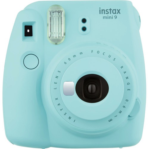 FUJI INSTAX MINI 9 ICE BLUE by Fujifilm at B&C Camera