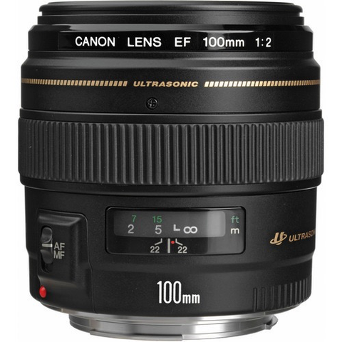 Canon EF 100mm f/2 USM by Canon at B&C Camera