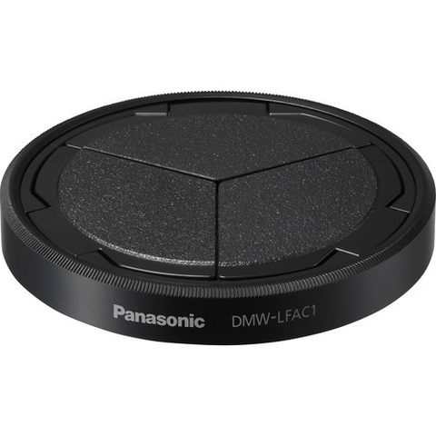 Panasonic Auto Lens Cap for Lumix DMC-LX100 (Black) by Panasonic at bandccamera