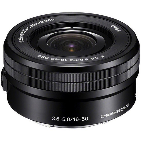 Sony 16-50mm f/3.5-5.6 OSS Alpha Retractable Zoom Lens - B&C Camera - 1