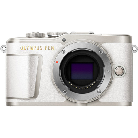 Olympus PEN E-PL9 Mirrorless Micro Four Thirds Digital Camera Body (White) by Olympus at B&C Camera