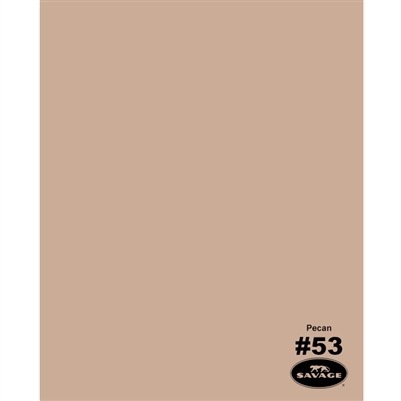 "Savage Widetone Seamless Background Paper (Pecan 86""X12yds) by Savage at B&C Camera"