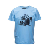 COOPH T-Shirt FIDELAROID (BLUE)-MEDIUM - B&C Camera