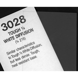 "Rosco Cinegel #3028 Filter 20"" x 24"" Sheet (Tough 1/4 White Diffusion) by Visual Departures at B&C Camera"