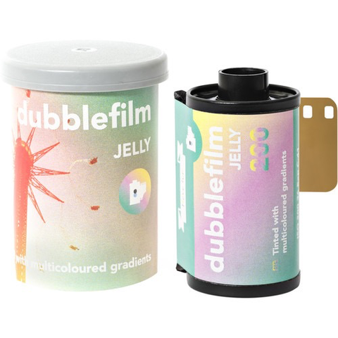 dubblefilm JELLY 200 Color Negative Film (35mm Roll Film, 36 Exposures)