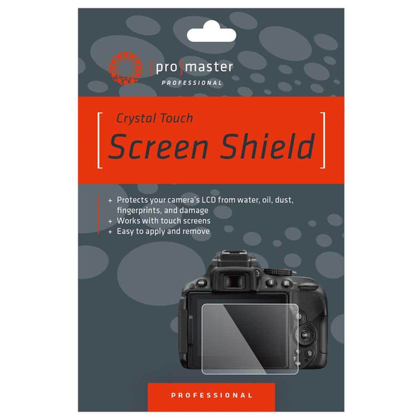 Promaster Crystal Touch Screen Shield - Canon R6
