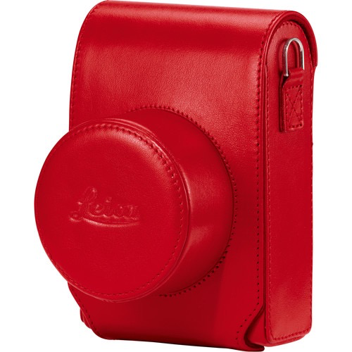 Leica D-Lux 7 Case (Red) by Leica at B&C Camera