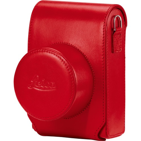 Leica D-Lux 7 Case (Red) by Leica at bandccamera
