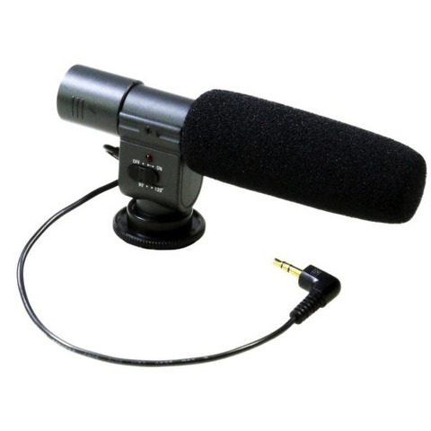 Promaster Vectra Mic-1 External Stereo Microphone by Promaster at bandccamera