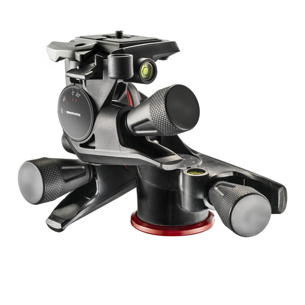 Manfrotto XPRO Geared 3-Way Pan/Tilt Head - B&C Camera