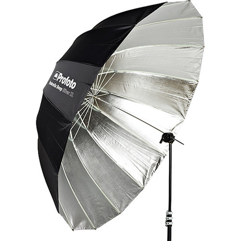 "Profoto Deep Silver Umbrella (Extra Large, 65"") by Profoto at B&C Camera"