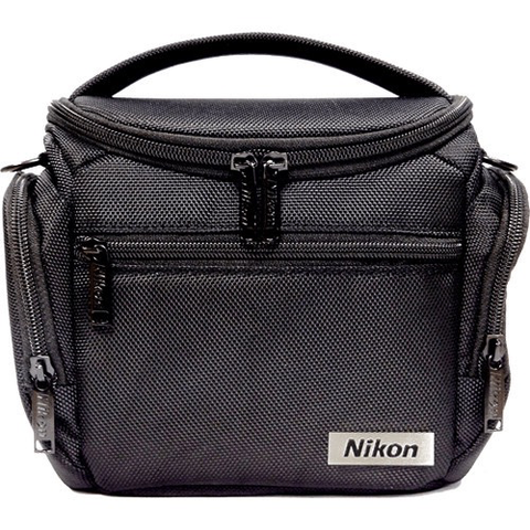 Nikon Compact Camera Bag for COOLPIX or Nikon 1 (Black)