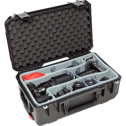 SKB iSeries 3i-2011-7 Case w/ Think Tank Designed Photo Dividers & Lid Foam (Black) by SKB at B&C Camera