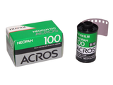 Fujifilm Neopan ACROS 100 36EXP Black & White Film by Fujifilm at bandccamera