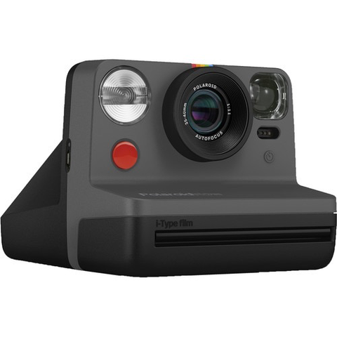 Polaroid Now Instant Film Camera (Black)