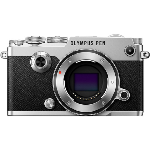 Olympus PEN-F Mirrorless Micro Four Thirds Digital Camera Body (Silver) - B&C Camera