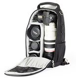 thinkTANK Photo Glass Taxi Backpack (Black/Gray) - B&C Camera - 3