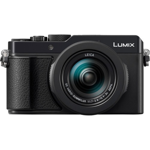Panasonic Lumix DC-LX100 II Digital Camera (Black) by Panasonic at bandccamera