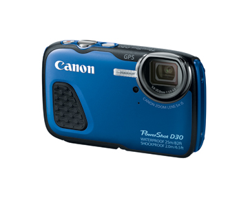Canon PowerShot D30 - Blue by Canon at bandccamera