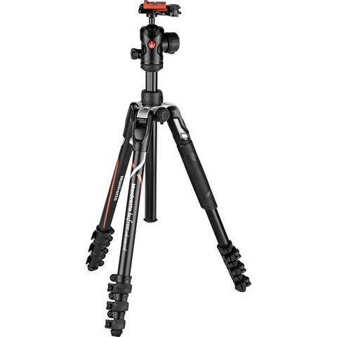 Manfrotto Befree Advanced Travel Aluminum Tripod with 494 Ball Head (Lever Locks, Sony Alpha Edition) by Manfrotto at B&C Camera