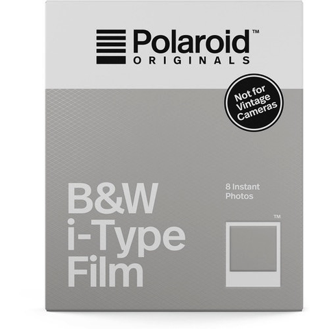 Polaroid Originals Black & White i-Type Instant Film (8 Exposures) by Polaroid at B&C Camera