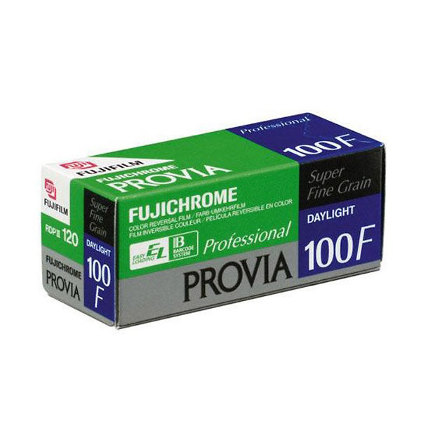 Fujifilm Fujichrome Provia 100F Professional RDP-III Color Transparency Film (120 Roll)