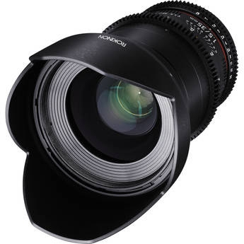 Rokinon 35mm T1.5 Cine DS Lens - Sony E Mount by Rokinon at bandccamera
