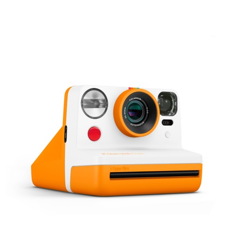 Polaroid Now Instant Film Camera (Orange)